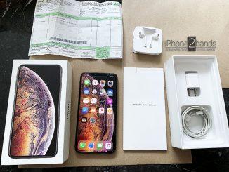 ขาย iPhone XS MAX สีทอง 64gb ศูนย์ไทย ประกันเหลือ+ใบเสร็จ