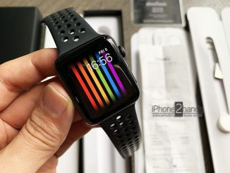 Apple Watch S3 Nike GPS 42mm สีดำประกัน30 เมษา63 พร้อมใบเสร็จ