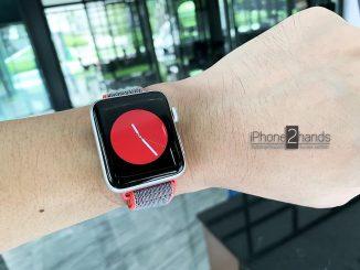 ขาย Apple Watch S3 42mm Nike GPS เครื่องศูนย์ มือสอง ราคาถูก