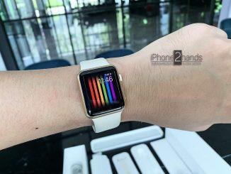 ขาย Apple Watch สีทอง 38mm เครื่องศูนย์ ครบกล่อง ราคาถูก
