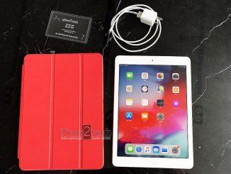 iPad Air สีขาว 16gb Wifi เครื่องศูนย์ไทย มือสอง ราคาถูก