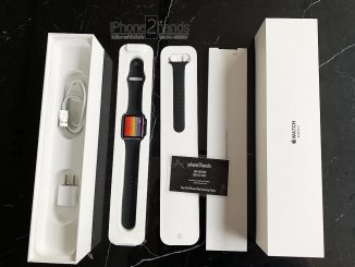 Apple Watch S3 สีดำ 42mm Cellular GPS ประกันศูนย์ สิงหา 62