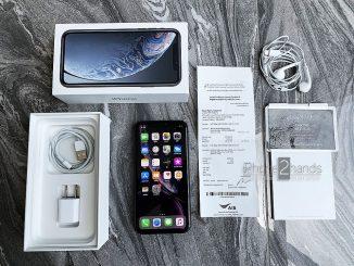 ขาย iPhone XR สีดำ 64gb ประกัน พฤษภา 63 พร้อมใบเสร็จ