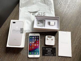 ขาย iPhone 7 Plus สีขาว 32gb AIS ประกันศูนย์ยาวๆ พฤษภา 63