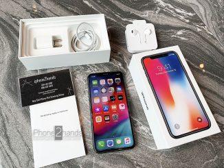 ขาย iPhone X สีดำ 64gb ศูนย์ไทย มือสอง ราคาถูก