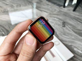 ขาย Apple Watch S4 สีทอง 40mm GPS ประกันถึง กุมภา 63