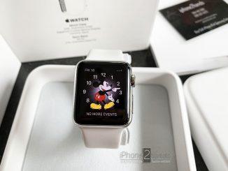 ขาย Apple Watch 38mm สีขาว EDITION (เซรามิค) สภาพมือ1