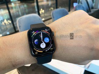 ขาย Apple Watch S4 44mm สีดำ GPS ประกันศูนย์เหลือ ราคาถูก