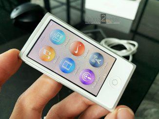 ขาย iPod Nano Gen 7 สีขาว 16gb ศูนย์ไทย มือสอง ราคาถูก