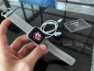 ขาย Apple Watch Series 2 38mm มือสอง ราคาถูก เครื่องศูนย์ไทย