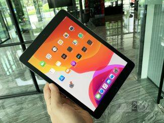 ขาย iPad 2018 สีดำ 128gb Wifi ประกันศูนย์ยาวๆ สิงหาคม 63 ปีหน้า