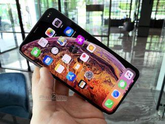 ขาย iPhone XS MAX สีทอง 256gb ศูนย์ AIS ครบกล่อง ประกันเหลือ