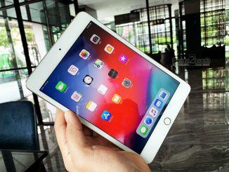 ขาย iPad Mini 4 สีทอง 16gb Wifi ศูนย์ไทย มือสอง ครบกล่อง
