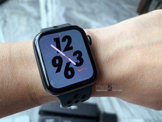 ขาย Apple Watch S4 Nike 44mm ประกันยาวๆ สิงหา 64 เกือบ 2 ปี