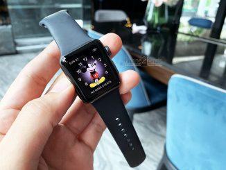 ขาย Apple Watch S3 สีดำ GPS 38mm ประกันถึง 28 มีนาคม 63 ปีหน้า