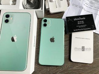 ขาย iPhone 11 สีเขียว 128gb เครื่องศูนย์ไทย ประกัน 17 ตุลา 63 ปีหน้า