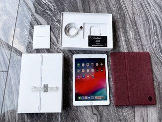 ขาย iPad 2018 Gen 6 สีขาว 32gb Cel Wifi เครื่องศูนย์ ประกันเหลือ