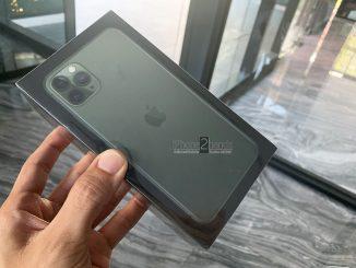 ขาย iPhone 11 Pro Max สี Midnight Green 512gb มีประกัน 1 ปีเต็ม ยังไม่แกะซีล