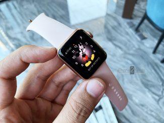 ขาย Apple Watch S3 สีชมพู 38mm GPS มือสอง ราคาถูก