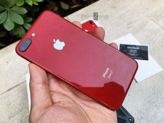ขาย iPhone 8 Plus สีแดง 64gb เครื่องศูนย์ ราคาถูกมากก