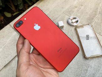 ขาย iPhone 7 Plus สีแดง 32gb เครื่องศูนย์ไทย มือสอง ราคาถูก