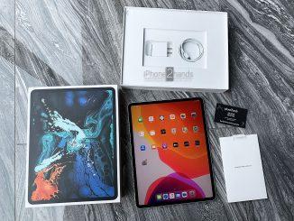 ขาย iPad Pro 12.9 Gen 3 สีขาว 256gb Wifi ประกัน มิถุนา 63 ราคาถูก