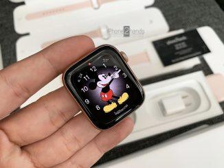 ขาย Apple Watch S4 GPS 44mm สีชมพู ประกันยาวๆ สิงหา 63