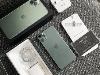ขาย iPhone 11 Pro Max สีเขียว 64gb ไทย มือ1 ประกัน27 มกรา 64 ปีหน้า