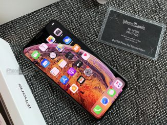 ขาย iPhone XS MAX สีทอง 256gb สภาพมือ1 ครบกล่อง ราคาถูก
