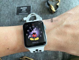 ขาย Apple Watch S3 GPS Cel สีขาว 42mm มือสอง ประกันเหลือ