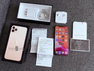 ขาย iPhone 11 Pro Max สีทอง 64gb พร้อมใบเสร็จ ประกันยาวๆ ราคาถูก
