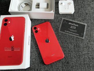 ขาย iPhone 11 สีแดง 64gb ศูนย์ไทย ประกันเหลือ ราคาถูก