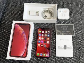 ขาย iPhone XR สีแดง 128gb ศูนย์ไทย ครบกล่อง สภาพมือ1 ราคาถูก
