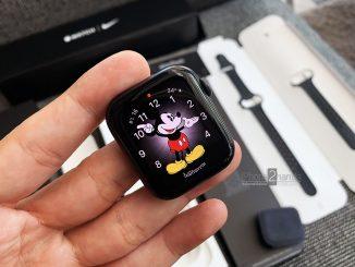 ขาย Apple Watch S5 GPS Nike สีดำ 44mm ประกันเหลือ 10 เดือน ราคาถูก