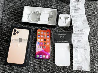 iPhone 11 Pro Max สีทอง 256gbประกัน 31 ธันวา 2564 เกือบๆ 2 ปี