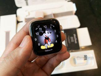 ขาย Apple Watch S4 สีชมพู 44mm GPS มือสองราคาถูก