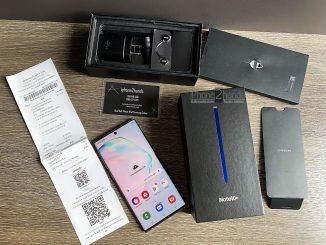 ขาย Note 10 Plus สี Aura Glow 256gb ศูนย์ไทย มือสอง ราคาถูกประกันเหลือ