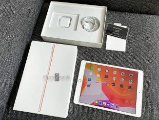 ขาย iPad Gen 7 สีทอง 128gb Wifi ประกันยาวๆ มกรา 64 ปีหน้า ราคาถูก
