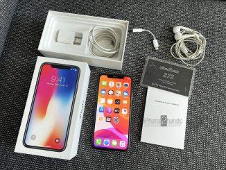 ขาย iPhone X สีดำ 64gb เครื่องศูนย์ไทย สภาพมือ1 ราคาถูก