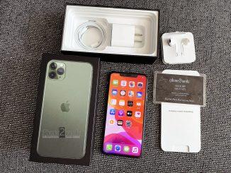 iPhone 11 Pro Max สีเขียว 256gb ศูนย์ไทย ประกัน 13 กุมภา 64 ปีหน้า