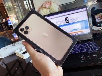 iPhone 11 Pro Max สีทอง 512gb ศูนย์ไทย มือ1 ประกัน 1 ปีเต็มราคาถูก