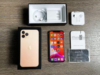 ขาย iPhone 11 Pro 256gb สีทอง ศูนย์ไทย มือ 1 ราคาถูก