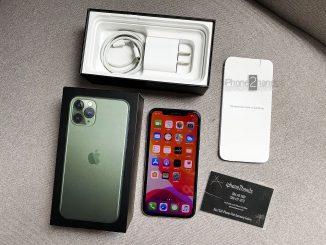 ขาย iPhone 11 Pro สีเขียว 64gb ประกันยาวๆ 27 กุมภาพันธ์ 64 ปีหน้า
