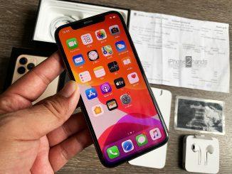 ขาย iPhone 11 Pro สีทอง 64gb ศูนย์ไทย ประกันยาวๆ พร้อมใบเสร็จ