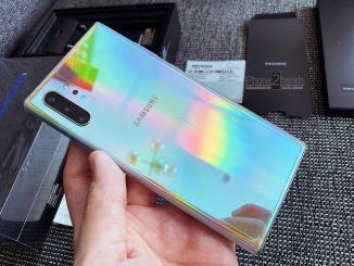 ขาย Note 10 Plus สี Aura Glow 256gb ประกัน 25 กุมภา 64 ปีหน้า ใบเสร็จ