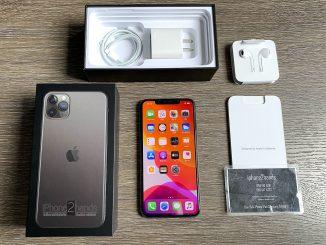ขาย iPhone 11 Pro Max สีดำ 256gb ประกันยาวๆ 11 เดือนกว่า ราคาถูก