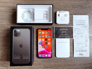 ขาย iPhone 11 Pro สีดำ 64gb ศูนย์ AIS ประกัน พฤศจิ 63 พร้อมใบเสร็จ