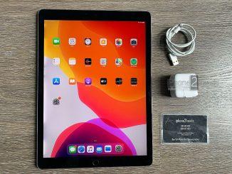 ขาย iPad Pro 12.9 Gen 2 สีดำ 256gb Cellular Wifi มือสอง ราคาถูก