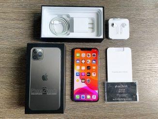 ขาย iPhone 11 Pro Max สีดำ 64gb เครื่องศูนย์ ประกันเหลือ ราคาถูก