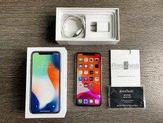 ขาย iPhone X สีขาว 256gb ศูนย์ไทย มือสอง ราคาถูกสภาพใหม่ๆ